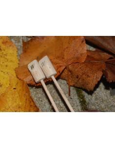 Økologisk strikkepind 20cm - str. 5