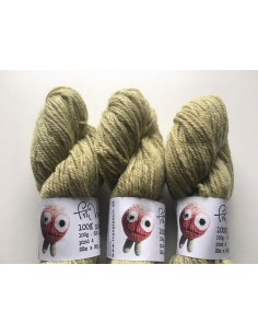Plantefarvet uld - rejnfan