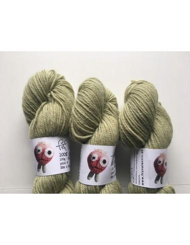 Plantefarvet uld - rejnfan og jern