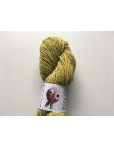 Plantefarvet uld - Tagrør