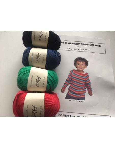 Kit - Alma & Albert børnebluse